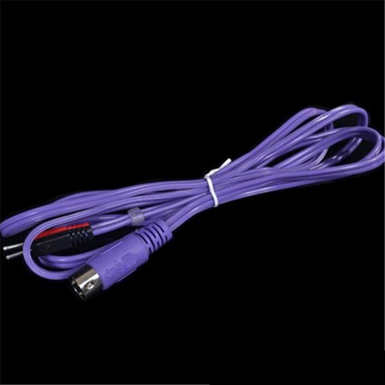 Elektrikli kas uyarıcısı için elektro kabloları ile kas stimülasyon pedleri ems zayıflama kilo kaybı makine elektrostimülasyon bölümü