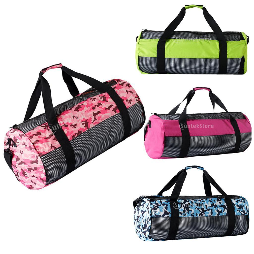 Durável malha de Mergulho Duffel Bag Equipamentos Case bolsa de armazenamento