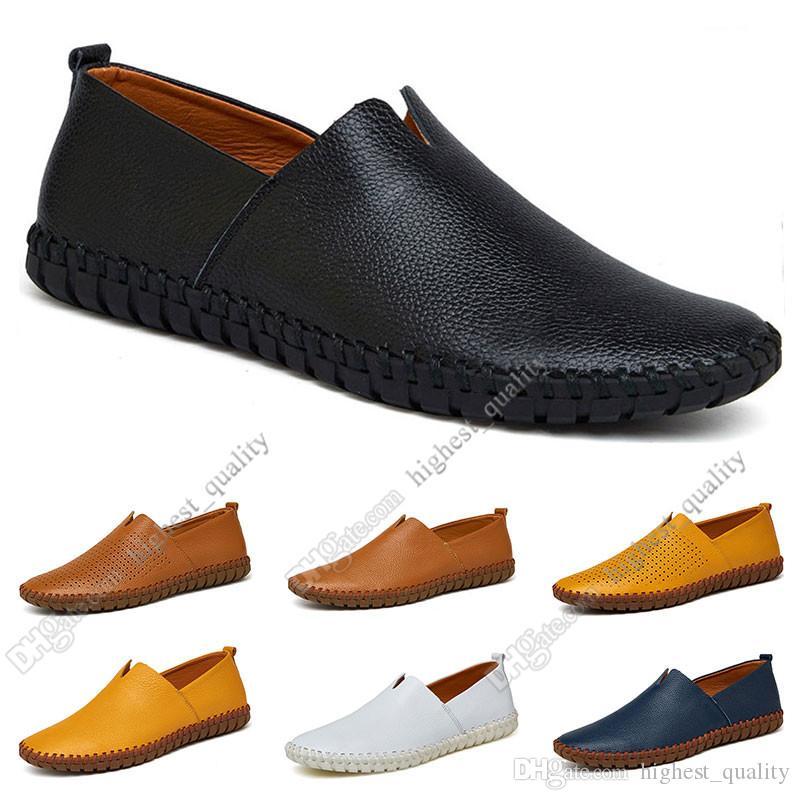 sapatos novos Nova moda Hot 38-50 Eur masculinos de couro dos homens de cores doces Overshoes sapatos casuais britânicos frete grátis Alpercatas Sixteen
