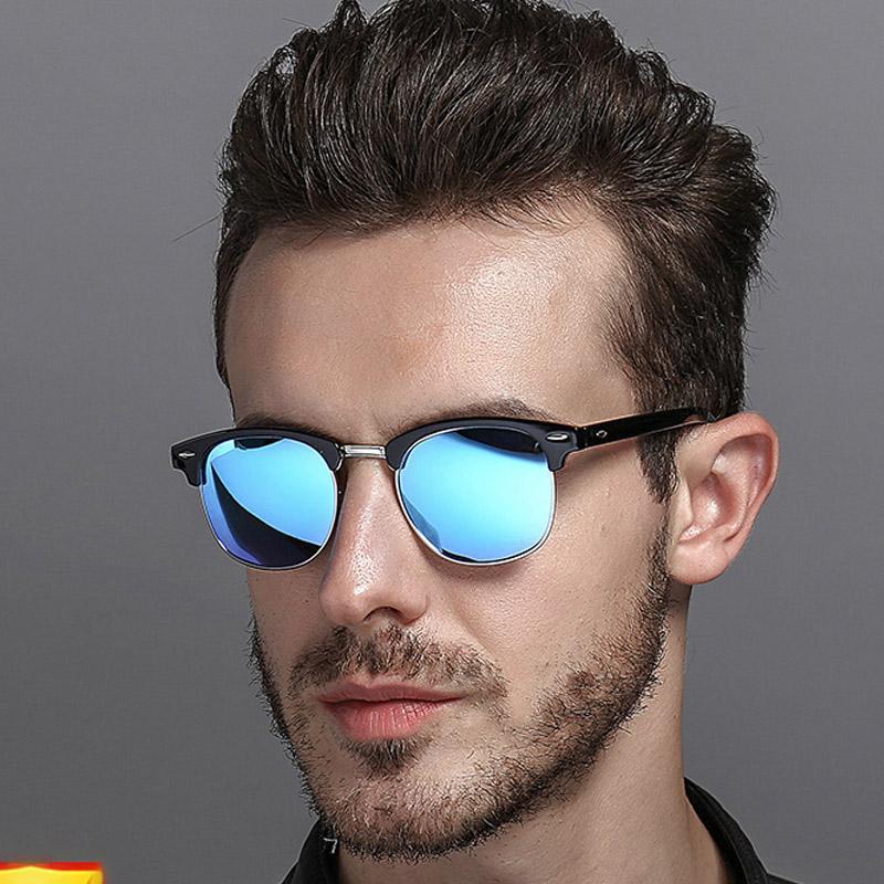 2019 Marka Tasarımcısı Güneş Yüksek Kaliteli Metal Menteşe Güneş Gözlüğü Erkek Gözlük Kadın Güneş gözlükleri UV400 Lens Unisex Orijinal Kutusu ile