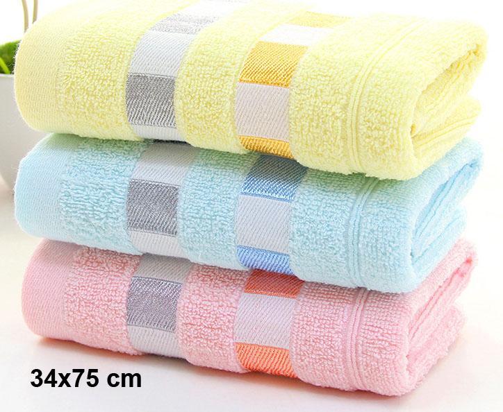 Фото 75x34 см Ванна Полотенца 100% хлопок полотенце Имеющийся хлопкового волокна Натуральные экологически чистые вышитые полотенца ванны