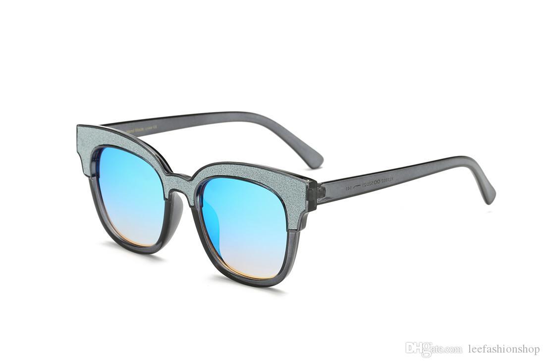 Vintage Rivet Sunglasses Unisex Metallic Retro Colorful Film Sunglass Fashion Sun glasses Classic Eyewear Glasses 1802