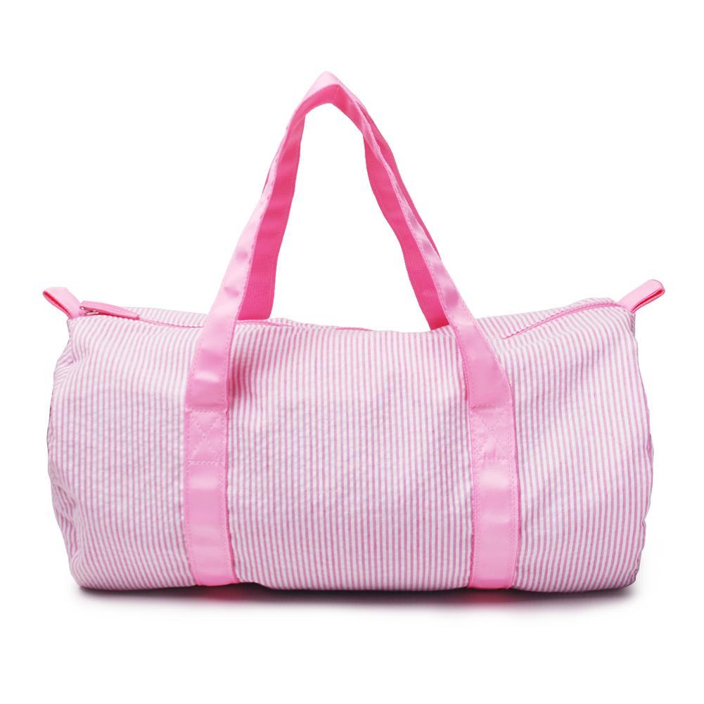 Дизайнер-дюймовый Seersucker Дети Duffle сумка Оптовая Пробелы Дети Barrel Сумка Опрятный Детская дорожная сумка большая емкость Royalblanks