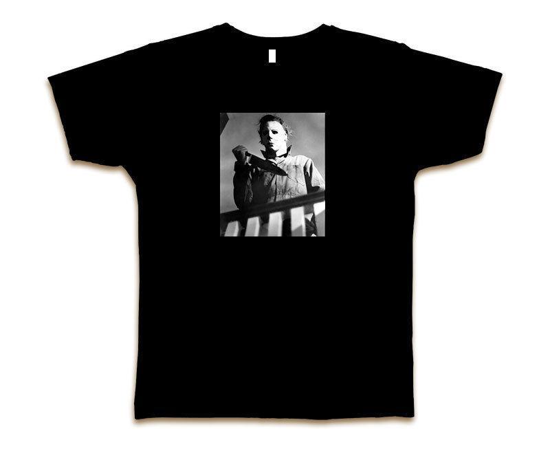 Michael Myers Tee shirt personnalisé Halloween New Sz S 3xl