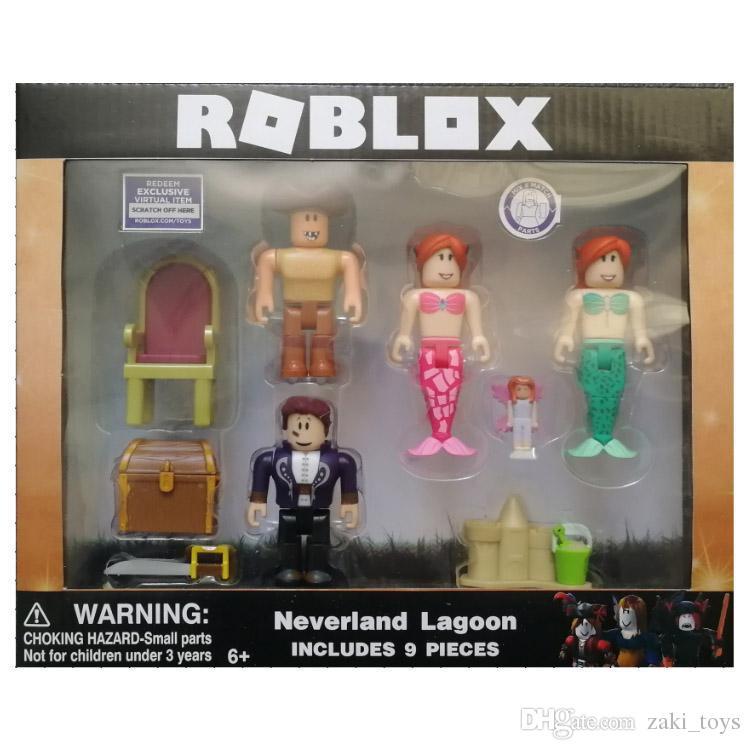 2020 New Arrived Cartoon Roblox Game Figma Oyuncak Mermaid Roblox
