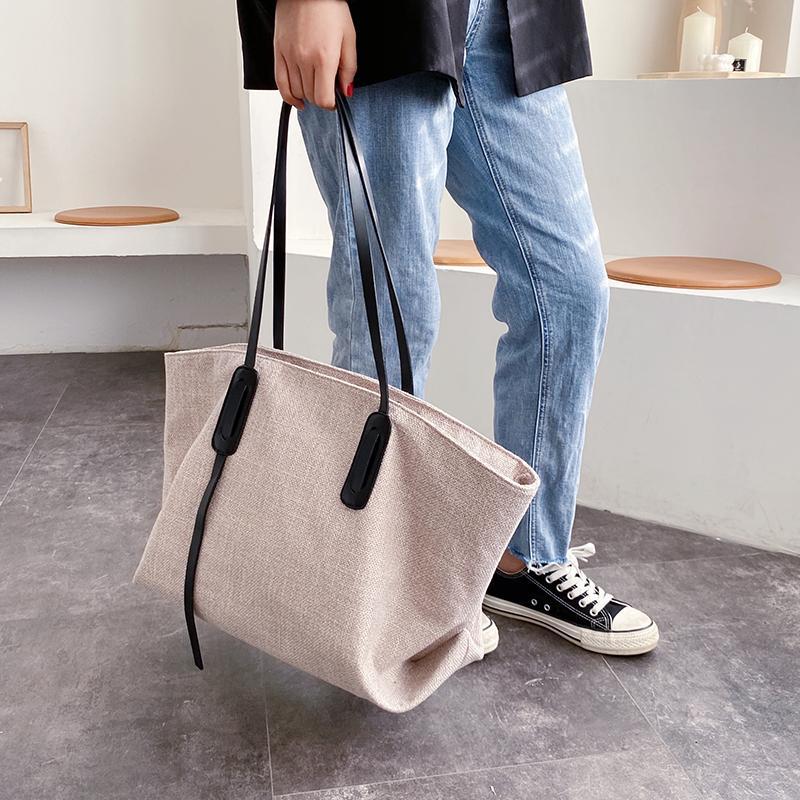 Lady Fashion Handbag Capacity Designer-Women 2021 Shoulder Shoulder Bag High Solid Quality New Lady Handbags Bag Designer Color Canvas Wogn