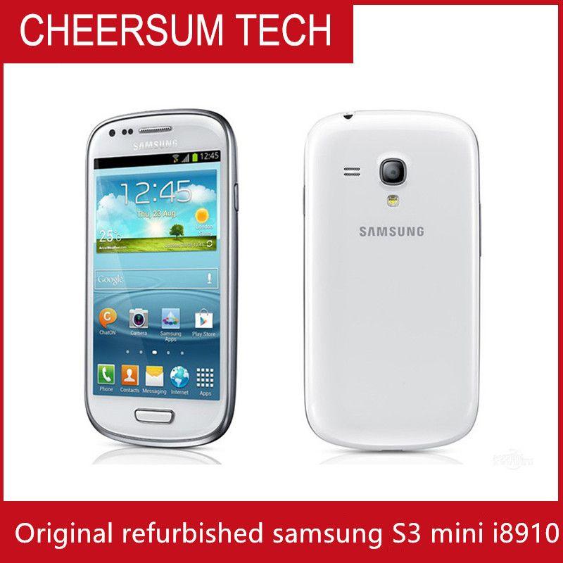 "100% оригинал Samsung I8190 Galaxy SIII S3 mini GPS 3G WIFI 5MP 4.0"" сенсорный Android сотовый телефон восстановлен"