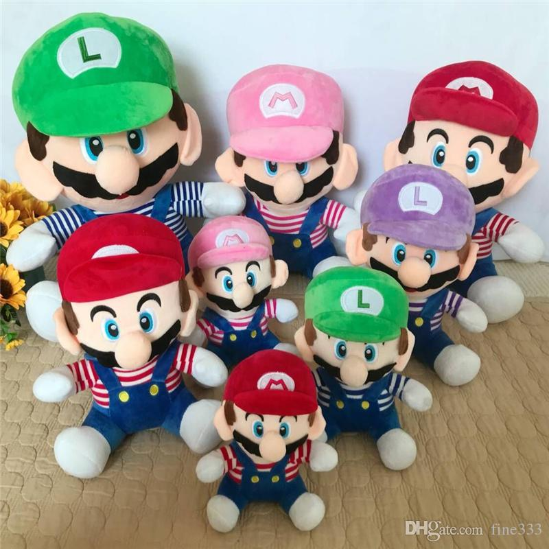 Big Penguin Stuffed Animal, 2020 Mario Stuffed Animals Doll Toys 4 Models Mario Bros 20cm 25cm Plush Toys Lol Best Gifts For Kids From Fine333 2 99 Dhgate Com