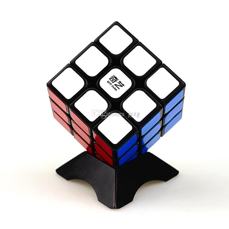 Qiyi Cube Magico Cubes Professional 3x3x3 Cubo наклейка скорость скорости головоломки головоломки развивающие игрушки для детей подарок рубрик кубик