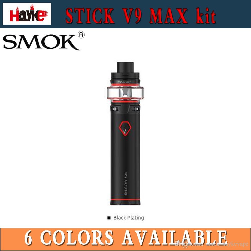 NUOVO SMOK Stick V9 Max Kit 4000mAh con Stick V9 Max serbatoio 8.5ML Fino a 60W protezioni multiple Vape Pen Kit 100% originale