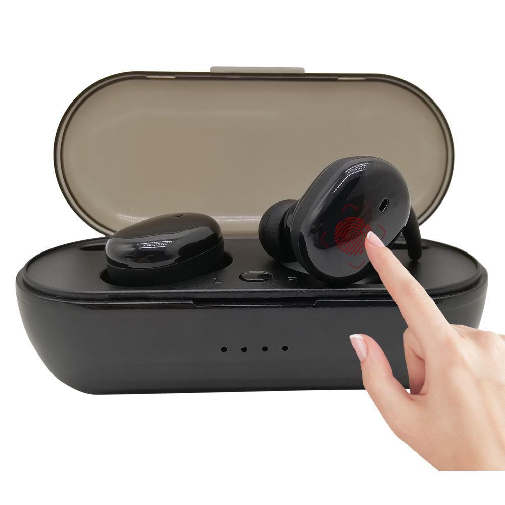TWS Y30 TWS4 Bluetooth Fones de ouvido Handsfree sem fio Fones de ouvido Headset Headphones Stereo Bluetooth 5.0 Touch Control para Smartphones