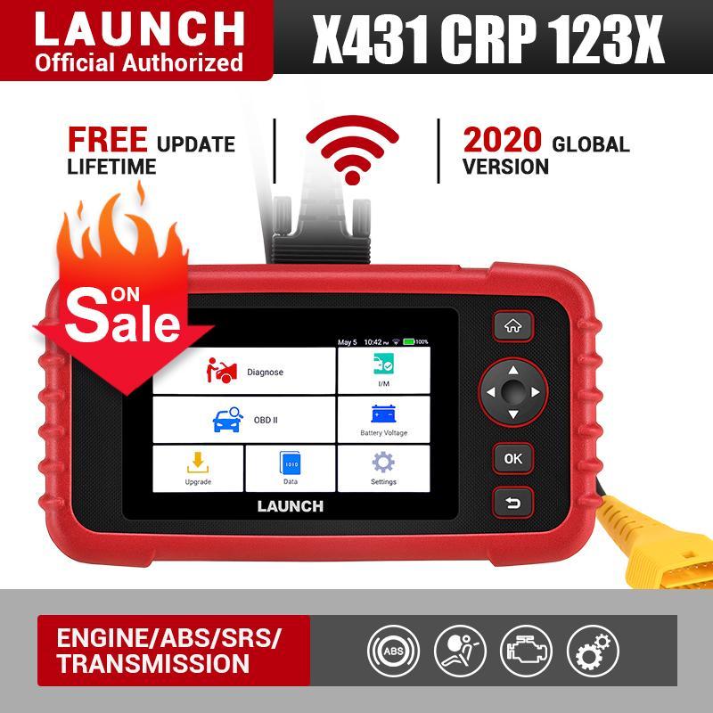 발사 X431 CRP123X OBD2 코드 리더 Creader 123X 자동차 스캐너 ENG ABS SRS 전송 자동차 진단 도구 무료 업데이트 PK의 CRP123