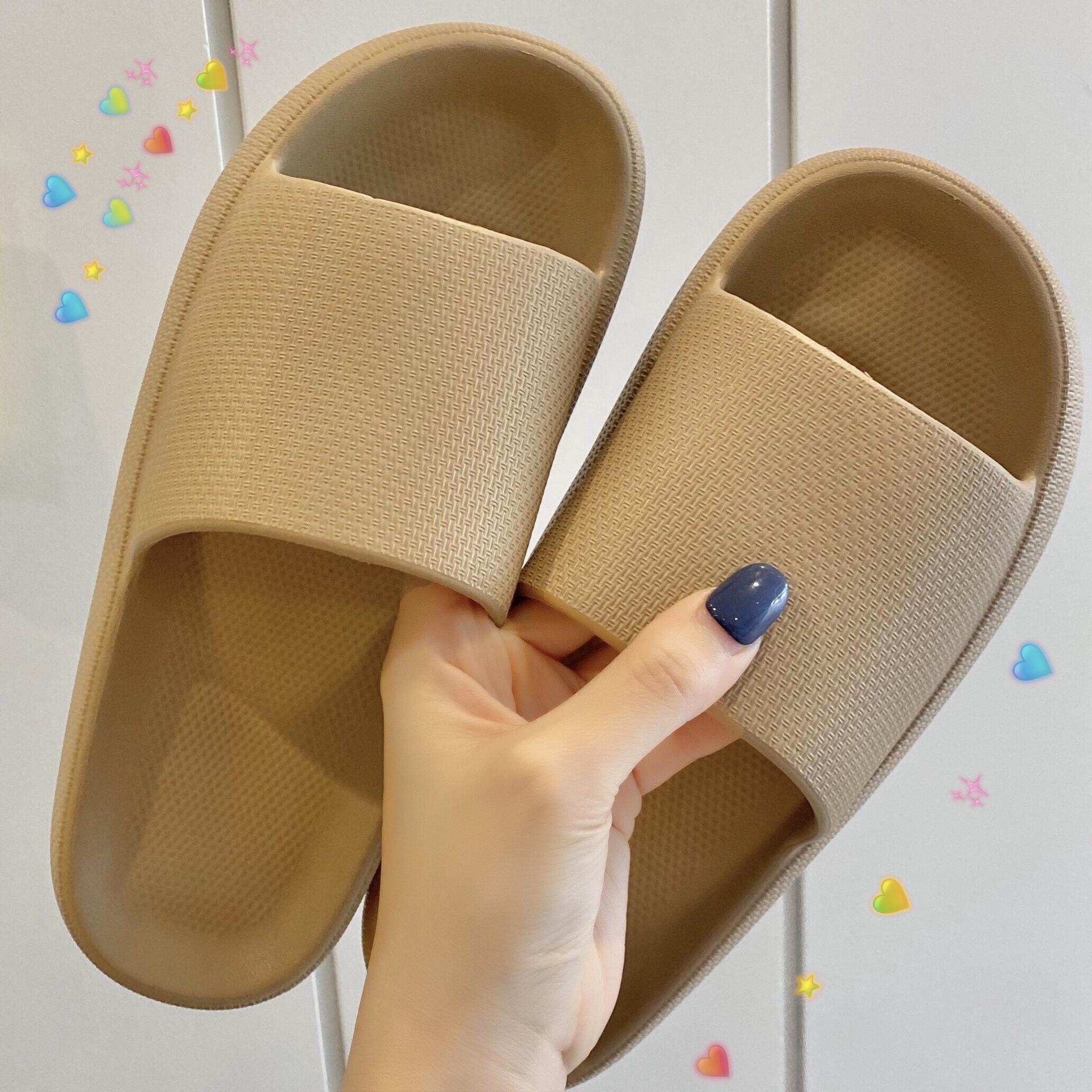 2020 лето новой женский дом обуви Противоскользящего wearresistant флип-флоп случайных мод EVA твердого нижнего душ прохладной швабру