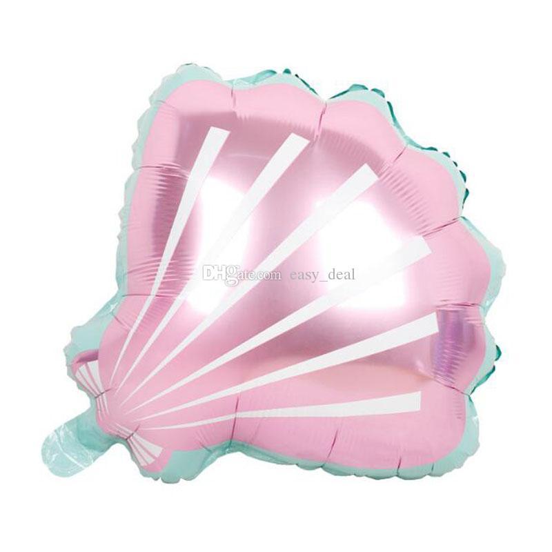 54 * 50 cm Adorável Shell Foil Balões para o Chuveiro de Bebê Crianças Adultos Festa de Aniversário de Casamento Decoração Suprimentos Air Globos Bola ZC0188