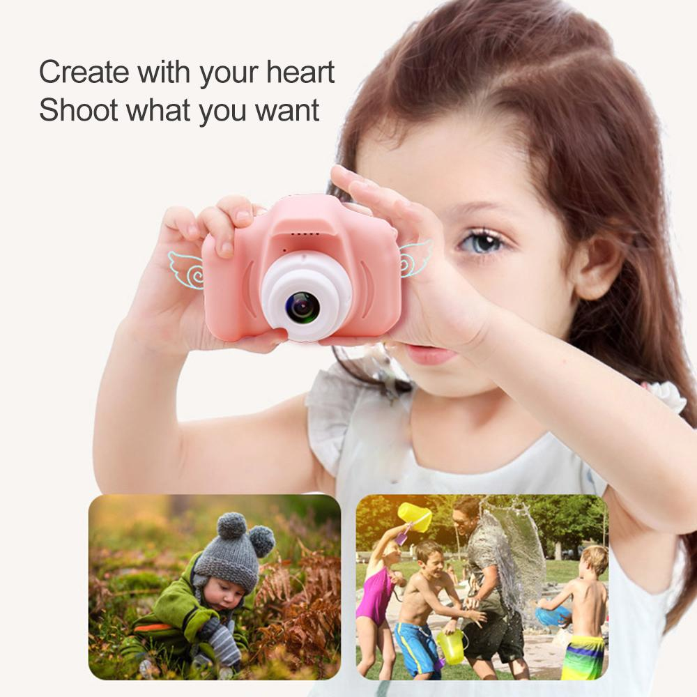 Children Kids Camera Educational Toys For Baby Gift Mini Digital Camera 1080p Projection Video Camera With 2 Inch Display Screen From Songblackfriday 18 1 Dhgate Com