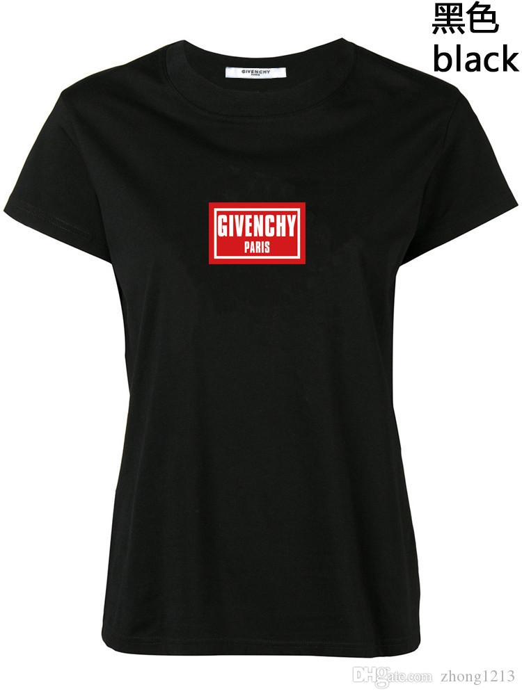 2020 Inicio de moda de lujo camiseta del verano tapas de las mujeres diseñador B letra de la impresión de la manga camiseta corta de algodón camiseta Hombres Mujeres Tees