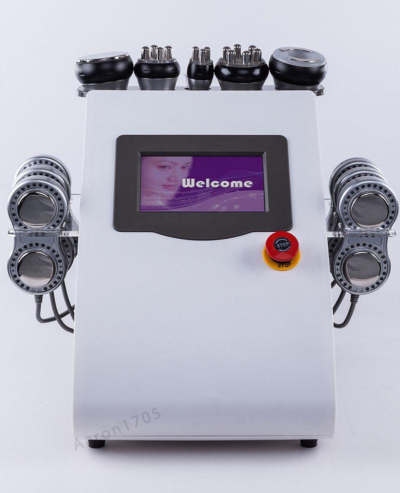 피부 관리 아름다움 기계를 체중을 줄이는 휴대용 몸 모양 microcurrent 고주파 기계 진공 공동 현상 기계 몸