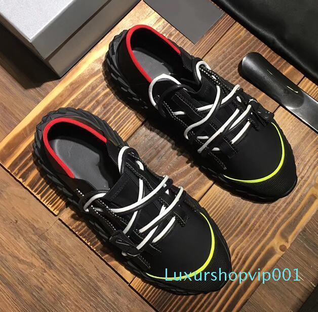 Модельер Повседневная обувь для мужчин женщин ежа платье snesakers высокое качество spiny86 подошва Италия повседневная обувь 35-46 rt10