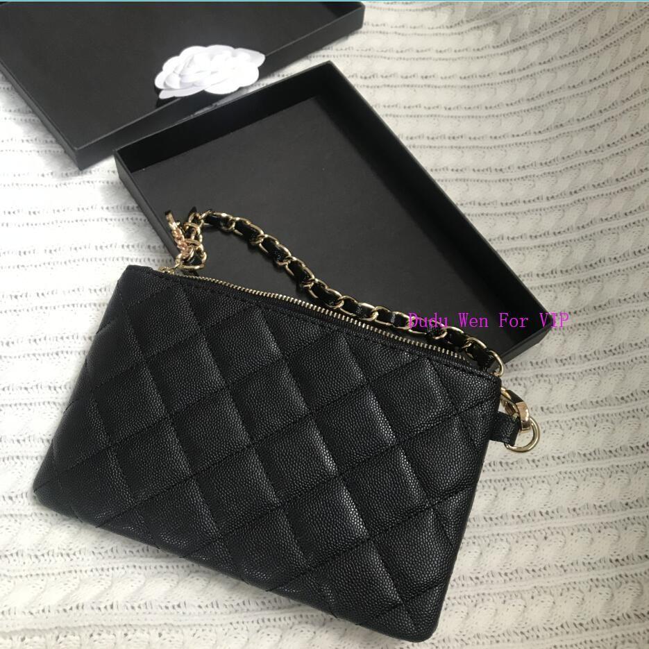 20X13X2CM de lujo de la moneda red cristalina del diamante de la moda del organizador del bolso de la bolsa del caso con el titular de la tarjeta de regalo caja incluyendo C dama de la moda de hardware