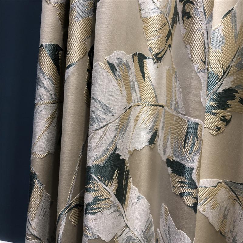 Amerikanisches einfaches Zimmer modernen Vorhang Schlafzimmer Wohnzimmer verdickte kleine frische individueller Vorhang kleines schönes Licht Luxus modernen Vorhang Garn