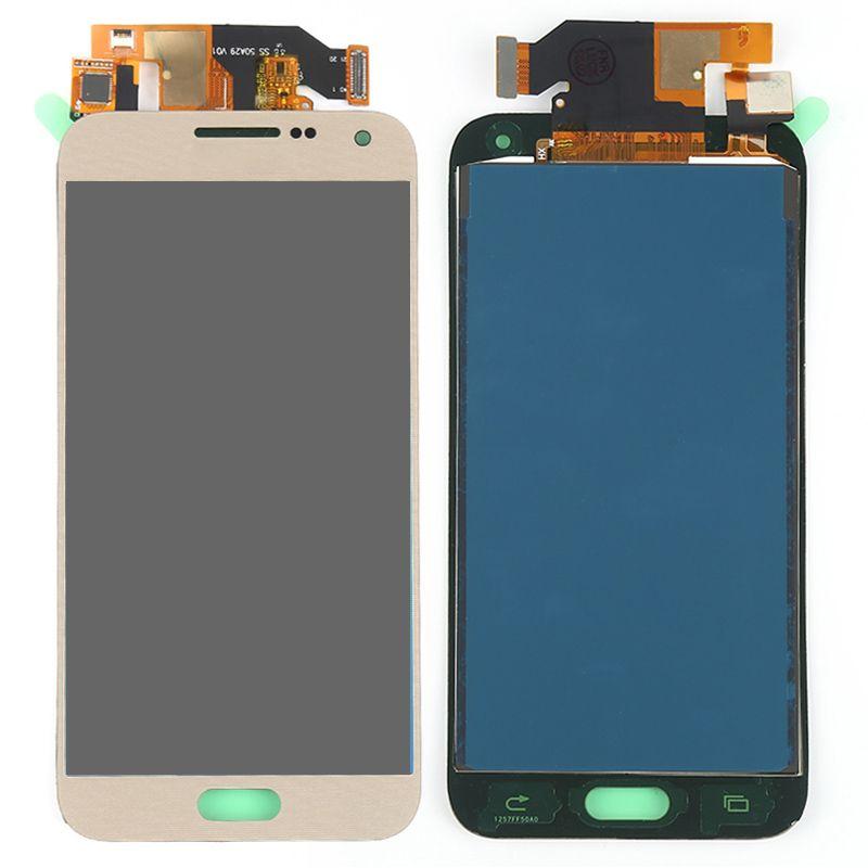 E500F LCD para Samsung Galaxy E5 E500F E500H E500M Pantalla táctil Reemplazo del ensamblaje del digitalizador para Samsung E5 Pantalla Lcd