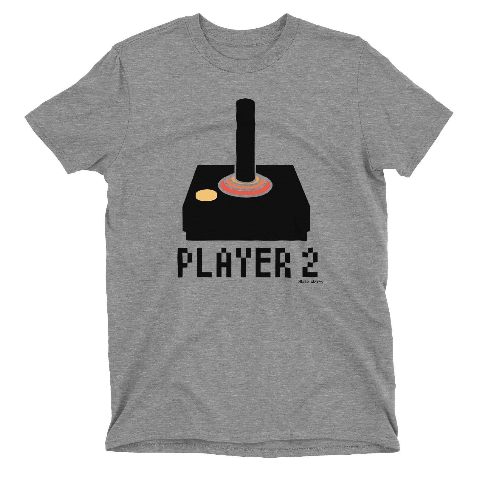 Player 1 2 3 4 Retro Joystick Matching T-Shirt Dad Mum Boy Girl Baby Classic Quality High t-shirt