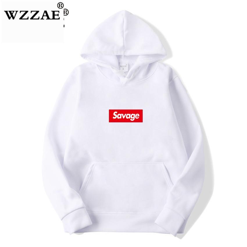 WZZAE 2019 New 21 Street Wear Wolle Baumwollhoodies Parody Kein Herz X Hoodie Männer Frauen Hip Hop