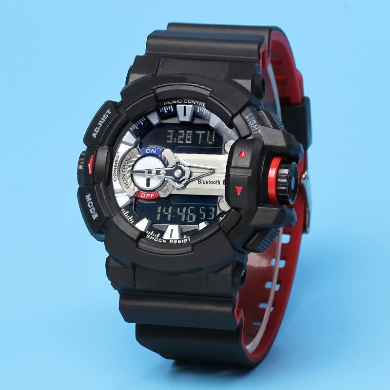 أعلى جودة العلامة التجارية الجديدة 2020 ساعات للرجال الرياضة كوارتز GBA400 صدمة التناظرية نمط LED الرقمية ووتش Relojer في الهواء الطلق متعدد الوظائف بوي ساعات المعصم