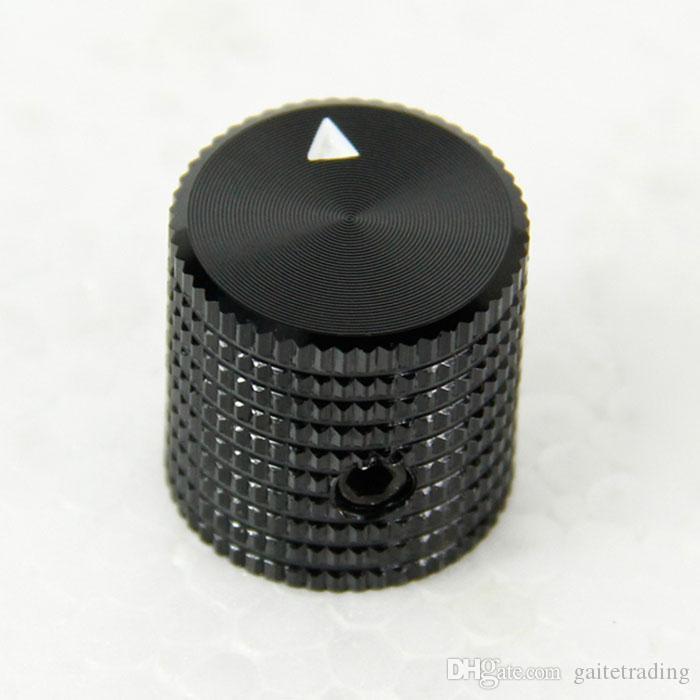 free shipping black hifi electronic potentiometer knob DIY Digital part Sound Microphone volume switch knob Tube Amplifier knob