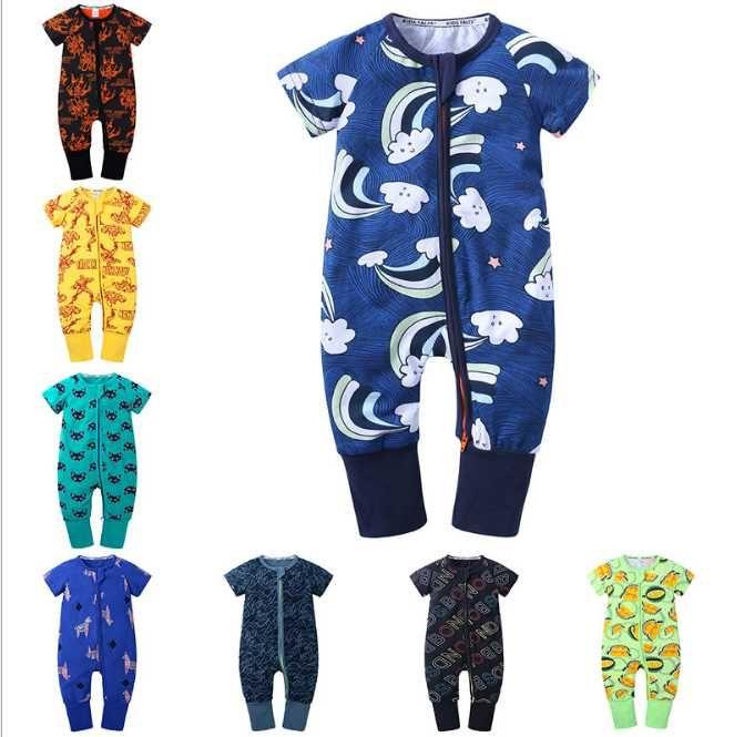 2019 Sonbahar Kış Yeni Doğan Bebek Giyim Unisex Giyim Erkek tulum Çocuklar Kostüm Kız Bebek tulumu İçin