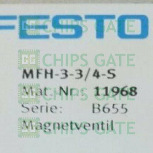 1 Adet Yeni FESTO MFH-3-3 / 4-S (11968) Hızlı Gemi