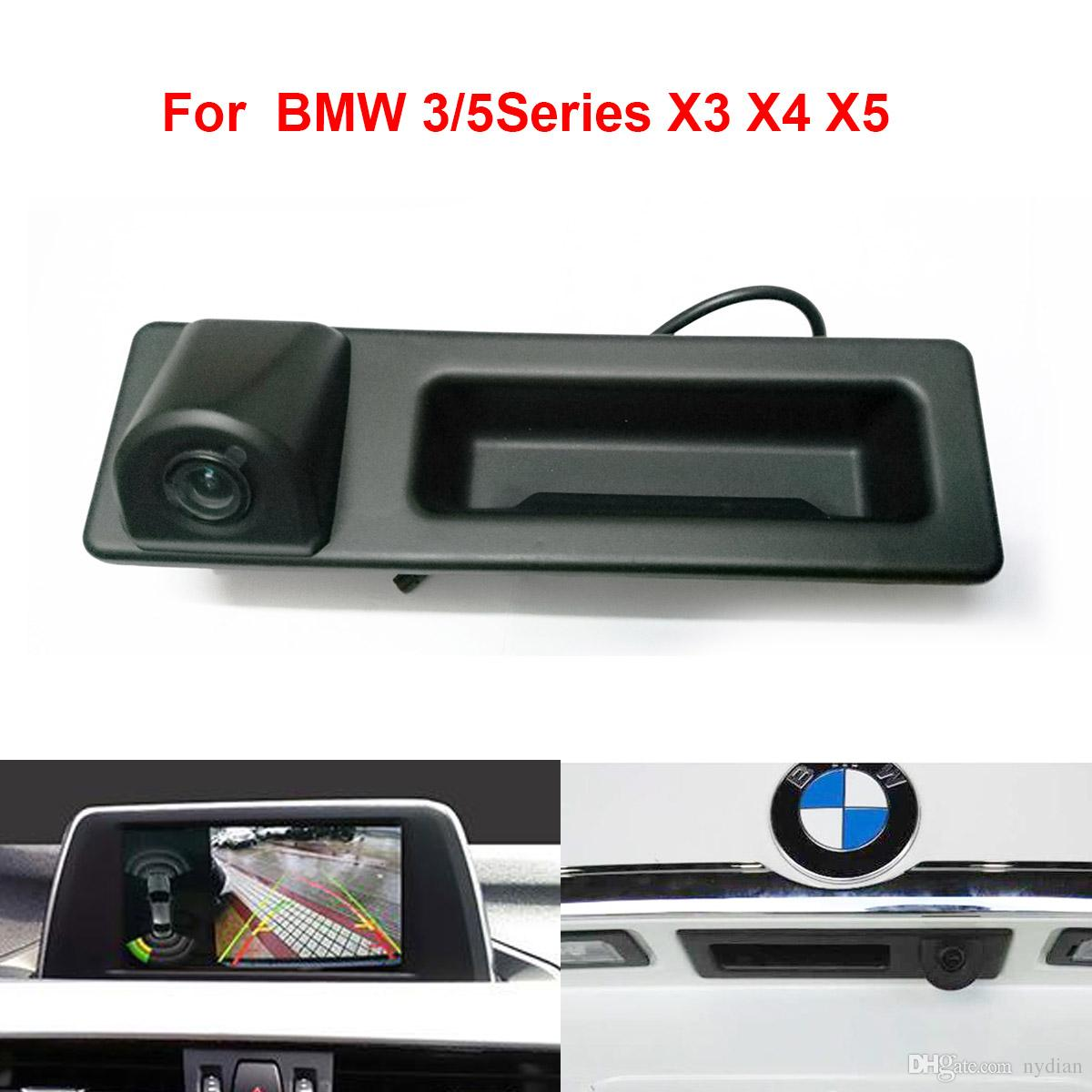 Car Rear View Tailgate Handle Camera for BMW 3 5 X3 X5 Series