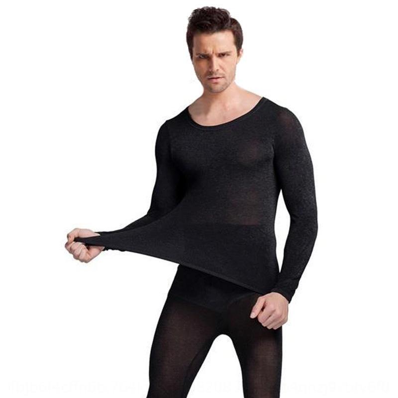 nNldP VTNHU горячей размер постоянной температура термобелье набор мужские и женские ультратонкие большие одежды 37 Теплая Нижнее белье и осень degre