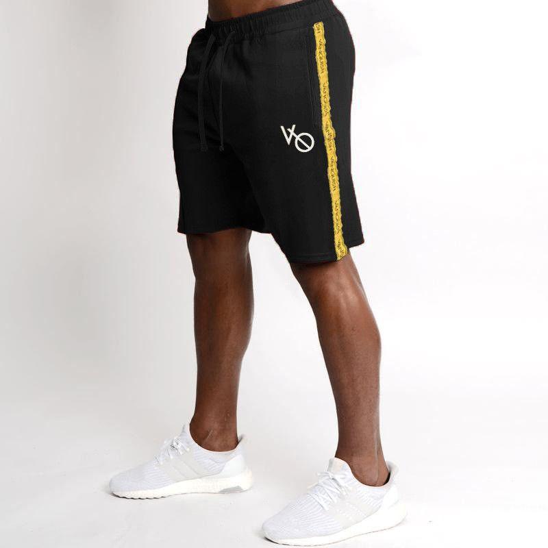 2020 neue Männer Fitness Laufhose Männer Marke Fitness Turnhose Jogger Druck Männer Training Gyms Männer