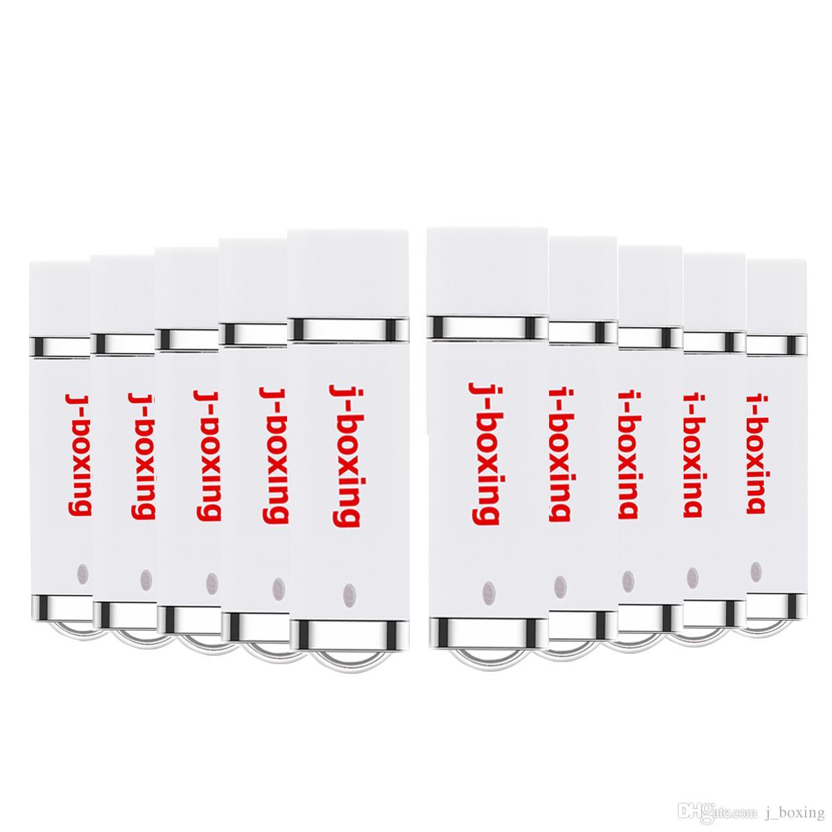 10PCS White Lighter Model USB 2.0 Flash Drive Pen Drives USB Memory Stick 64M 128M 256M 512M 1G 2G 4G 8G 16G 32G for PC Laptop Thumb Storage