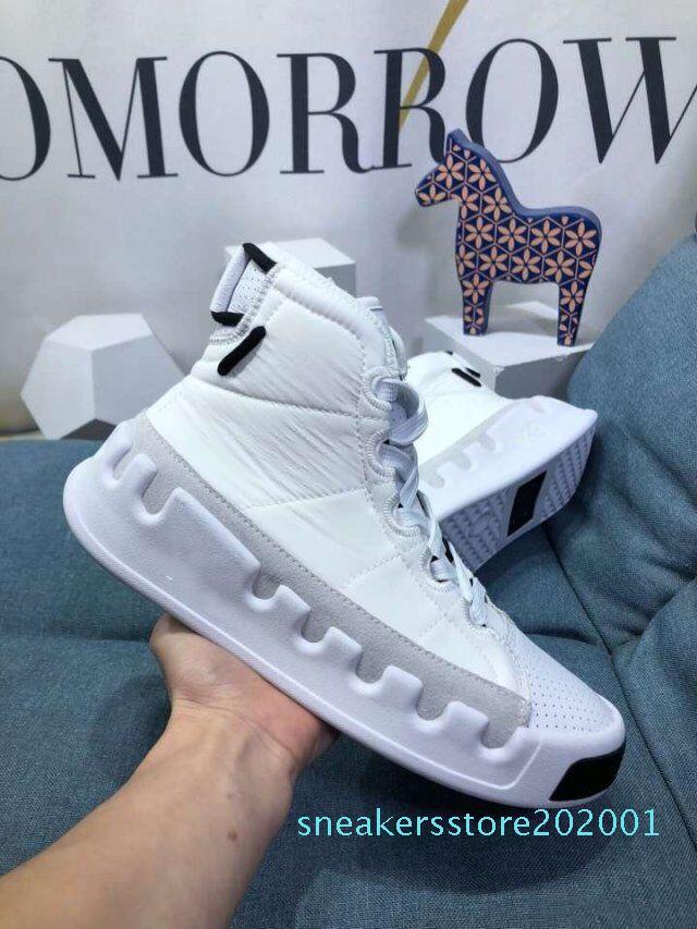New Kanye West Y3 Vermelho Branco Preto alta-Top Homens Sapatilhas impermeável Designer Y3 couro de luxo Genuine calçados casuais S01