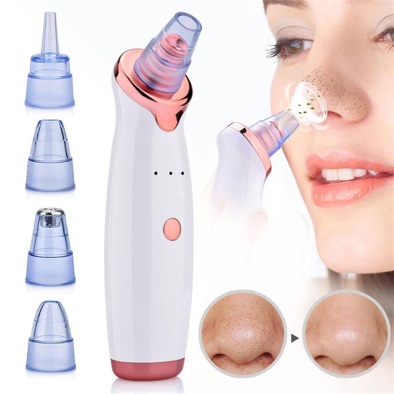 DHL Elektro Mitesser Entferner Vakuumsaugschalen Nose-Gesichtspore-Reiniger Reinigung Mitesser Removal Tool Maschine Hautpflege Schönheit Instrument