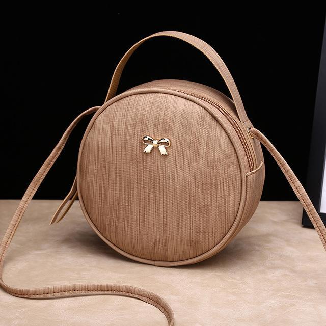 2020 bolso del diseñador del bolso de las nuevas mujeres de lujo un bolso de hombro diagonal Mujer de la mariposa de hardware libre Comercio Exterior bolsa redonda Pequeño