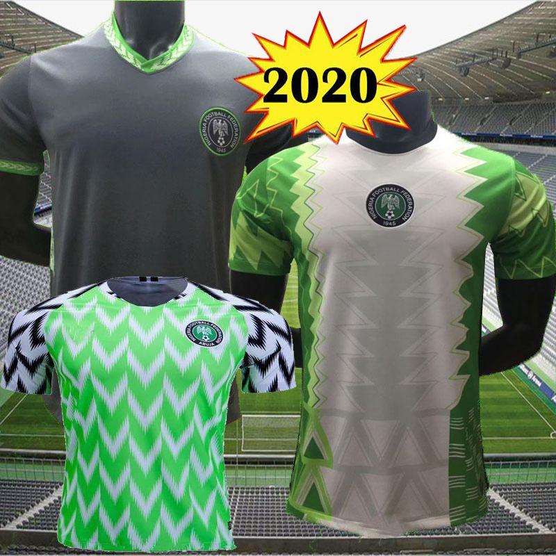 2020 Nigeria Home Away Soccer jersey 20 21 Nigeria jersey Okechukwu OKOCHA AHMED MUSA MIKEL IHEANACHO Football shirt men kids kits uniform 8