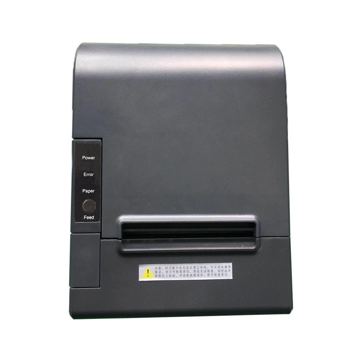 Hspos 3 بوصة سطح المكتب استلام الطابعة الحرارية دعم الخط الناقل التسلسلي العام إيثرنت المسلسل للسينما تذكرة آلة الطباعة HS-802USL