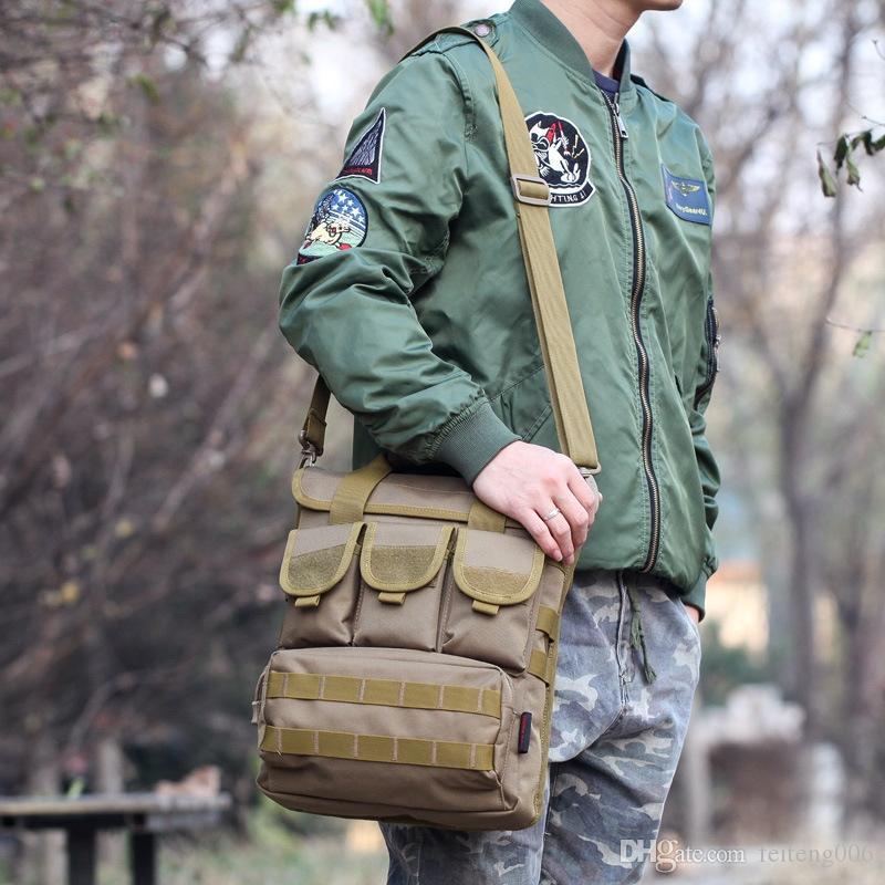 Neue Ankunft Mode Männlichen Umhängetasche Hohe Qualität Umhängetasche multifunktionale Outdoor Sport Werkzeug Angeln für Männer # 861494
