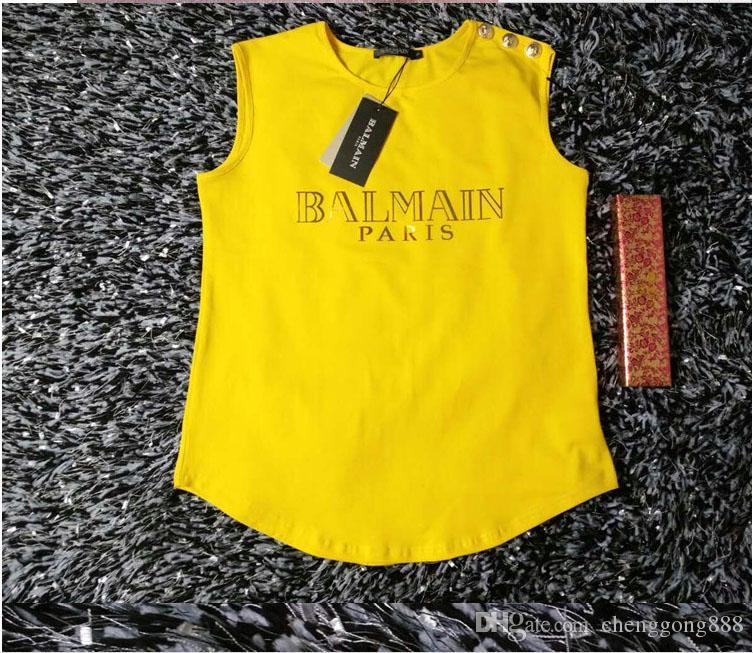 Горячая марка Gold Label Женских Tee Shirt Top Футболка хлопок Футболка для женщин, размер S-XL