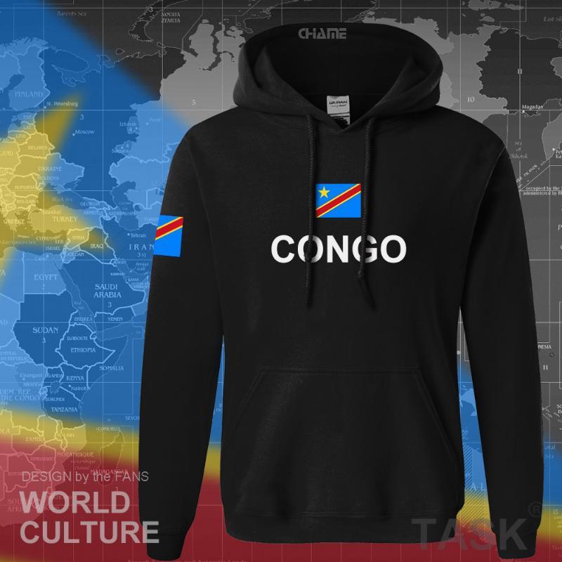 WAMNI RD Congo hoodies dos homens / mulheres / crianças RDC impresso camisola do Hoodie Primavera Outono Unisex kpop traje Harajuku Streetwear