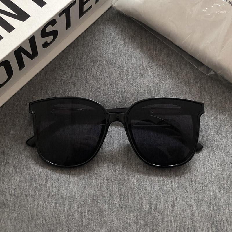 2020 Женщины Brand Солнцезащитные очки Корея Классический Нежный монстр площади кадра солнцезащитные очки Мода Женщины Мужчины Прохладный GM Sunglasses1