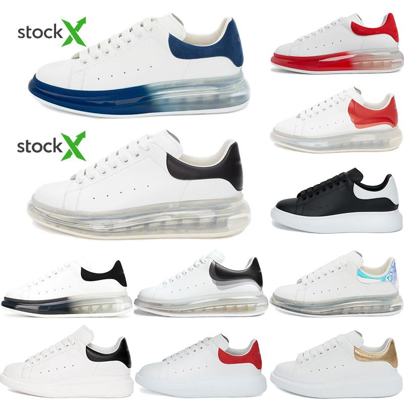 Top Quality 2020 Mens Womens Blcak Velet Sneakers Best Fashion White Leather Platform Shoes Flat Outdoors Daily Dress Party Shoes With Box
