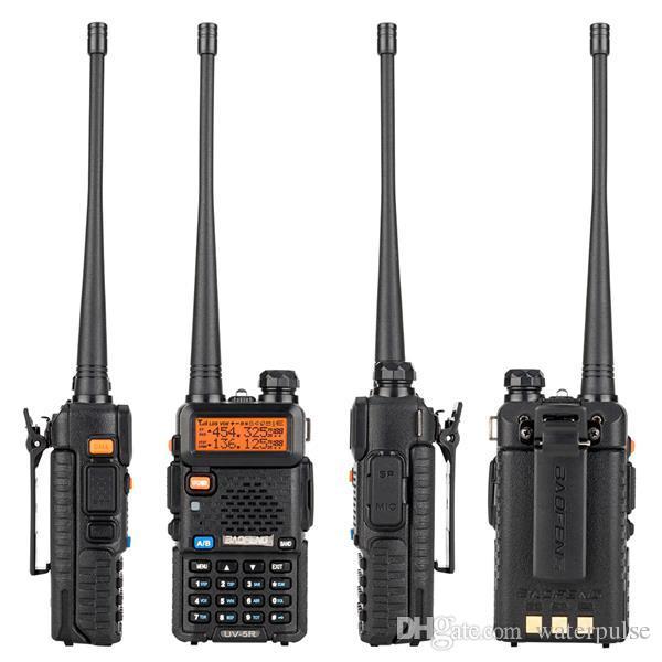"""Baofeng 1.5 """"LCD 5W 136 ~ 174 MHz / 400 ~ 520MHz Banda Dual Walkie Talkie com lanterna de 1 led"""