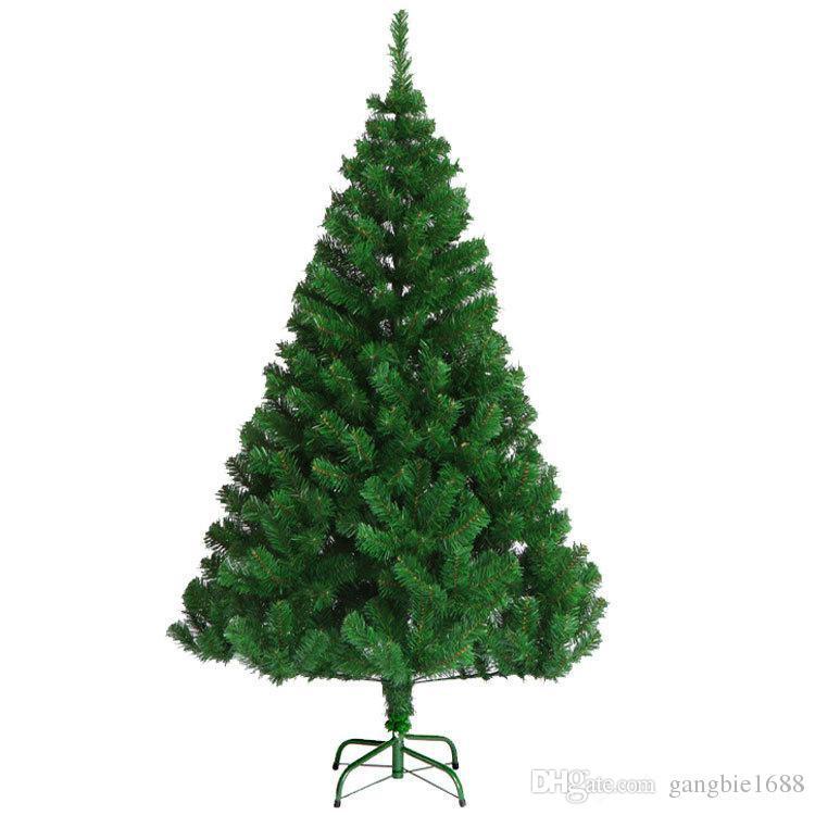 décorations de Noël 180cm PVC festival parti artificielle décorations colorées Arbre de Noël décoratif vert arbres de Noël ornements en gros