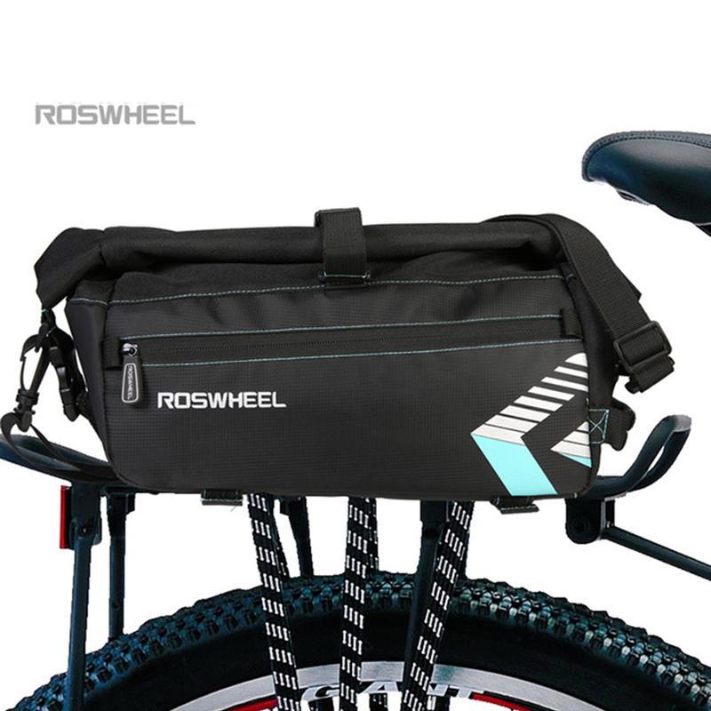 ROSWHEEL 6L impermeável bicicleta Bag acessórios de bicicletas Saddle Bag Ciclismo Mountain Bike Banco Traseiro Bags traseiros de ombro único