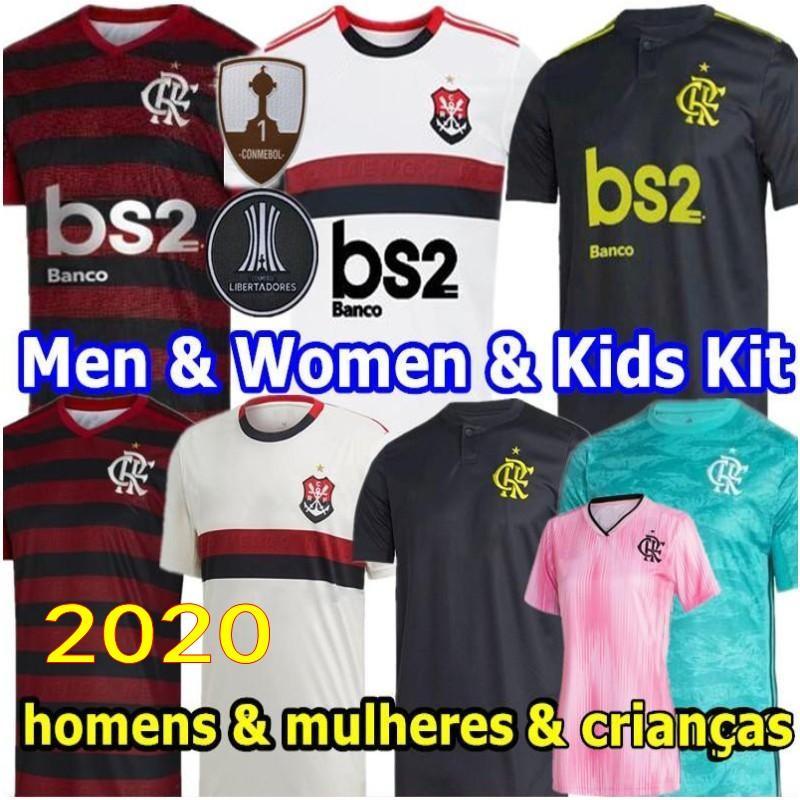 2020 camisa flamengo GUERRERO DIEGO HENRIQUE B de esportes da HOME de Futebol 2019 2020 Flamenco GABRIEL homem e da mulher de futebol adulto camisas