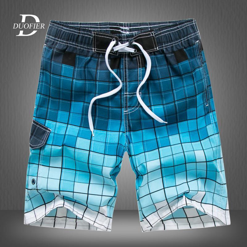 Marca del bolsillo de secado rápido Bañador de natación para los hombres del traje de baño traje de baño de los troncos de nadada Hombre Verano playa de baño de Sports surffing Pantalones cortos